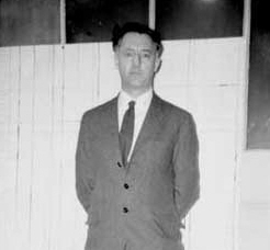RF Mackenzie  in the school office 1964