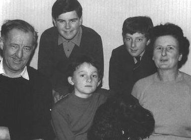 The Mackenzie family around 1965