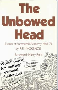 The Unbowed Head - book cover
